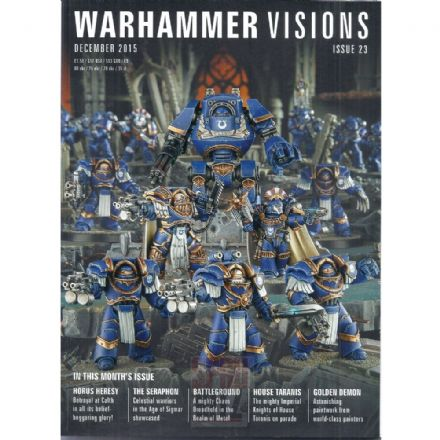 Warhammer Visions Issue 23 December 2015